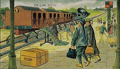 Представление 2000 года в 1910ом.