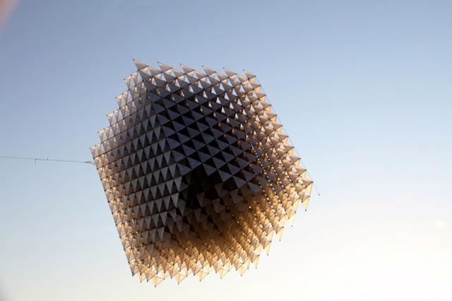 Кубический воздушный змей.